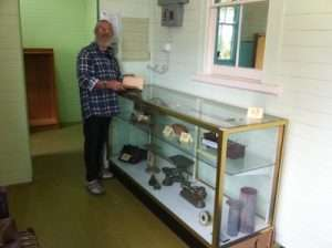 cabinets donated to Hall Museum