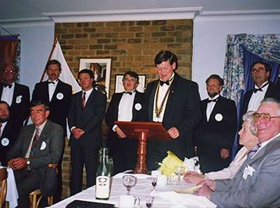 Rotary Club of Hall early days