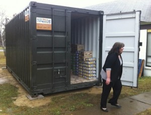 foodbank container