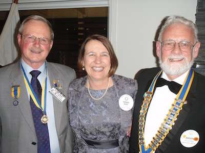 Rob, Barbara and Brian