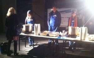 Vinnies night patrol soup kitchen