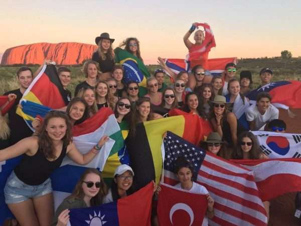 2016 youth exchange safari