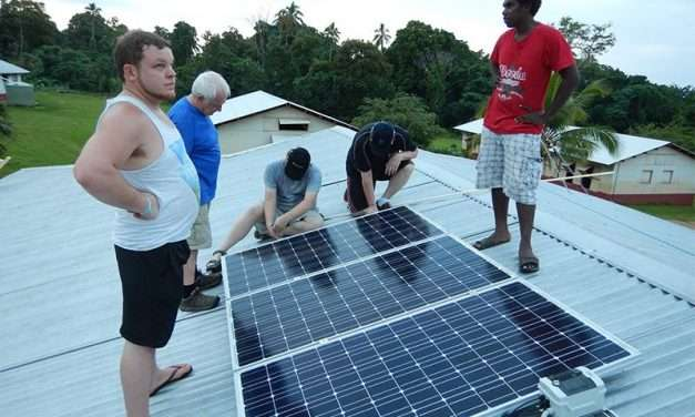 Solar Powered Computers in Vanuatu
