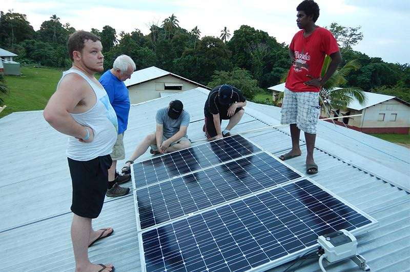 Solar Powered Computers in Vanuatu