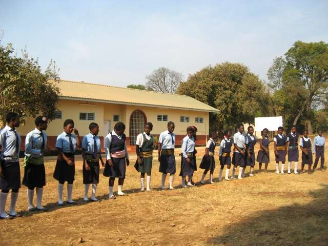 Children of Limapela School in Zambia