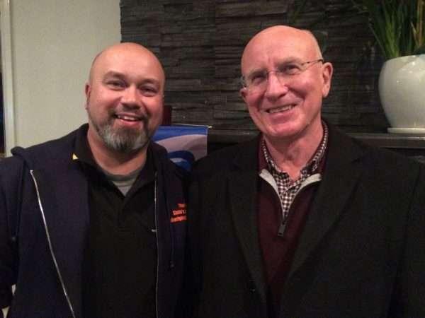 Brad Moggridge and Bob Breen