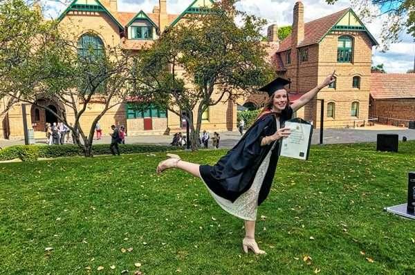Emma Lee Graduates