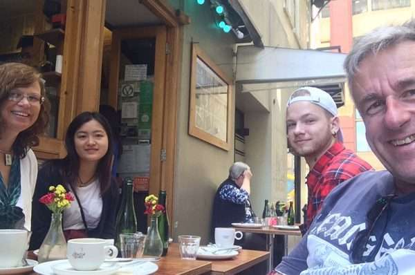 Catchup with Gerardas in Melbourne