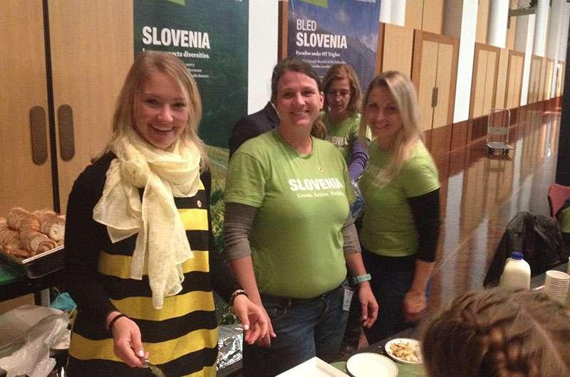 team from Slovenian Embassy